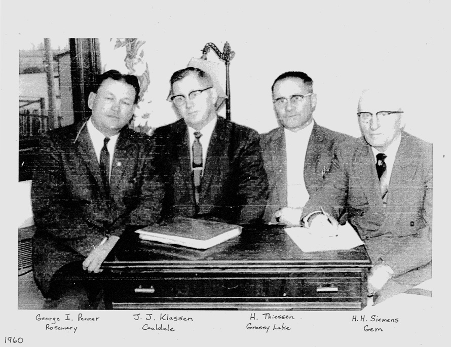 Original Founders of Mennonite Mutual Insurance